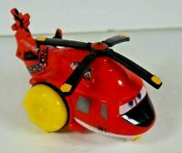 Disney Pixar Planes Blade Ranger Piston Peak Rare Pull Toy Red Helicopter