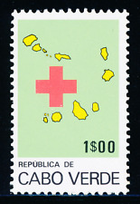 Cabo Verde - 1977 - Red Cross - 1$00