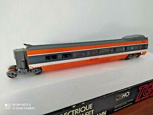 JOUEF CHAMPAGNOLE TGV RMQ R8 NEUVE AMENAGEE EN BO RE 5805 ROUES BRUNIES