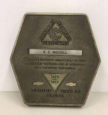 Chevrolet Certified Technician Award Chevy Mechanic Year 1972 to 1973