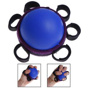 Hand Grip Ball Finger Practice Exercise Power Rehabilitation Training Gripper J/