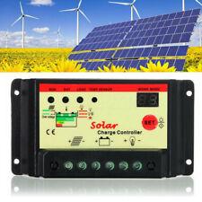 10A 12V/24V Solar Panel Battery Auto Charge Controller/Regulator For RV Boat US