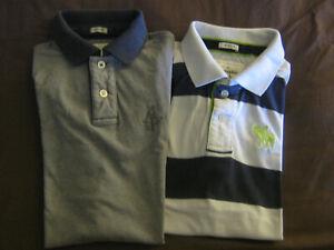 """2 chemises/polos""""ABERCROMBIE &FITCH""""Taille M coton(hollister,schott,ralph lauren"""