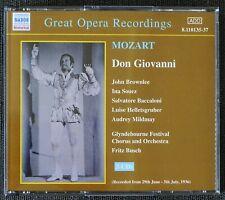 Mozart: Don Giovanni. John Brownlee, Ina Souez. Glyndebourne. 3 CDs. Naxos. 2001