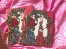 New 2 clintons art deco christmas cards