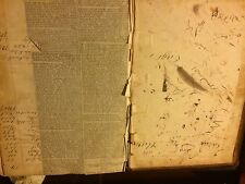 Rare 1815-1890 General Store Ledger Benton Station Maine Hundreds Names