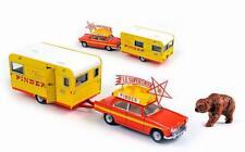 PEUGEOT 404 avec Caravane du Cirque PINDER CIJ 1/43 Série Limitée 1000 Ex C8000