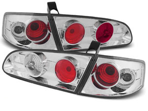 SEAT IBIZA 6L 2002 2003 2004 2005 2006 2007 2008 TAIL LIGHTS LTSE06 CHROME