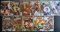 (11) Book THE MIGHTY AVENGERS Marvel Comic LOT (2007-2010) #22-30, 33-34 (NM+)