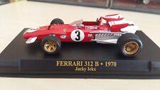 "Ferrari 312 B n°3 ""Jacky Ickx"" 1970 scala 1:43 Edicola"