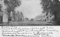 Postcard Main Street in Madelia, Minnesota~115971