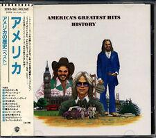 AMERICA'S Greatest Hits History JAPAN 1st Press CD 32XD-561 1987 W/Obi RARE!!
