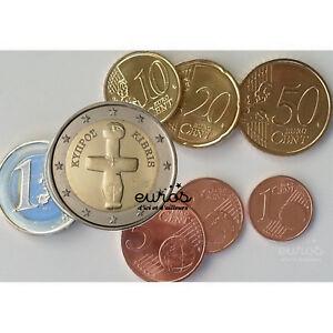 Série 1 Cent à 2 Euro CHYPRE 2021 - Qualité UNC