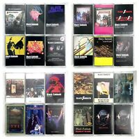 BUILD UR OWN Metal Cassette Tape Lot - Black Sabbath, Maiden, Metallica + More!