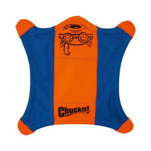 ChuckIt! Flying Squirrel Spinning Dog Toy, Large 11 in x 11 in, Dog Flying Discs