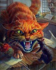 Crookshank Cat Diamond Painting Kit 40 x 30 cm like cross stitch