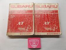 1989 SUBARU XT SERVICE SHOP REPAIR MANUAL (SECTIONS 1-6)