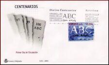 ESPAÑA SOBRE MATASELLOS 1º DÍA 03 DIARIOS CENTº ABC.