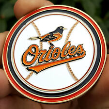 PREMIUM MLB Baltimore Orioles Poker Card Protector Collect Coin Golf Marker NEW