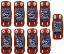 Colgate WISP Portable Mini Brush Max Fresh Peppermint 4 cnt (Pack of 9)