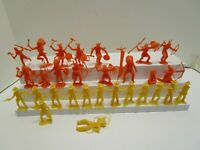 VINTAGE MPC COWBOY AND INDIANS LOT
