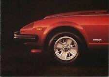 DATSUN Nissan 280 ZX 2 posti e 2+2 1979-81 ORIGINALE UK SALES BROCHURE