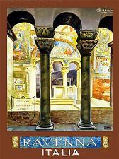 ART PRINT POSTER VINTAGE TRAVEL ITALIA RAVENNA ROMAN ITALY NOFL1529