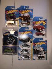 Hot Wheels VW Volkswagen Real Riders Hare Splitter Kool Kombi Beetle T2 Lot Of 8