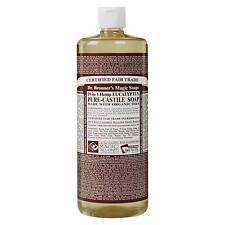 Dr Bronner Eucalyptus Castile Liquid Soap 946ml