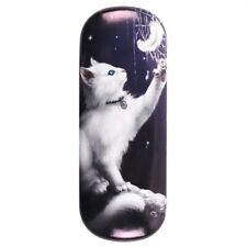 Snow Kitten  - Glasses Case by Linda Jones - Brand New