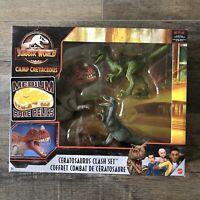 Jurassic World Camp Cretaceous - Ceratosaurus Clash Set - In Hand - US Seller