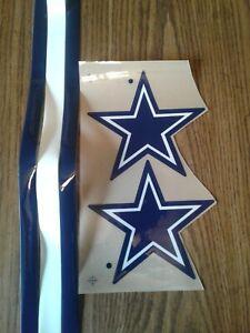 Dallas Cowboys full size football helmet decals set