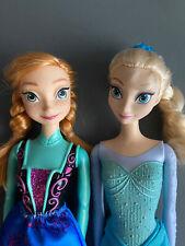 Disney frozen Elsa and Anna Dolls