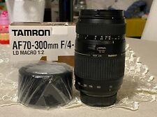 Tamron AF 70-300mm F/4-5.6 Di LD Macro 1:2 attacco Nikon D