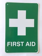 First Aid Sign Plastic 150mm x 220mm
