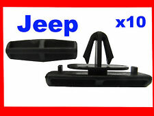 10 Jeep grand cherokee liberty car plastic fasteners moulding clips 38D