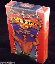 NITRO WCW Trading Card Game TWO-PLAYER STARTER SET SEALED Goldberg, Sting