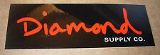 """DIAMOND SUPPLY CO 8"""" Logo Skate Sticker Cursive Logo skateboards helmets decal"""