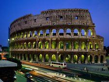 POSTER COLOSSEO AS ROMA ROME COLISEUM CITTA' CITY ITALIA ITALY PANORAMA FOTO #1