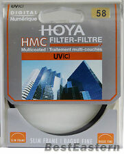 HOYA  HMC UV (C) 58mm Slim frame lens filter 58 mm
