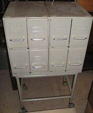 meuble 8 tiroirs amovibles René Herbst pour Flambo , atelier usine design loft