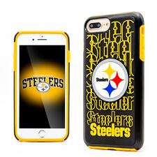 Steelers NFL Football Sport iPhone 7+ Rugged Protection Hybrid Phone Case Cover