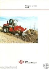 Equipment Brochure - O&K - L 25 B - Chargeuse Loader - c1997 French (E1921)