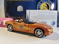 Franklin Mint 2007 Chevy Corvette C6 Indy 500 Pace Car 1:24 Scale Diecast Model