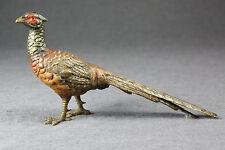 Wiener Bronze um 1920 Fasan Vienna bronze round about 1920 pheasant