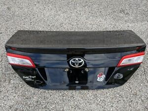 2012 2013 2014 TOYOTA CAMRY DECKLID TRUNK LID GENUINE OEM USED FREE SHIPPING !!!