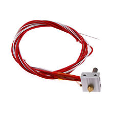 Heater Block Nozzle Extruder Tube Pipe Sleeves Kit For Prusa i3 3D Printer