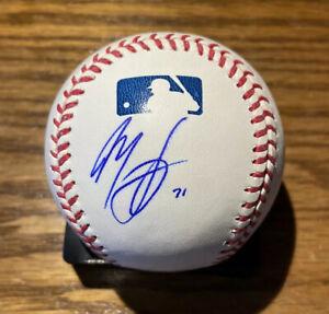 Manny Machado/Kevin Gausman/Dylan Bundy SIGNED Orioles Major League Baseball