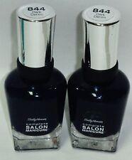 2 Sally Hansen Complete Salon Manicure Nail Polish DARK DENIM #844