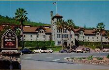 VTG Christian Brothers Wine & Champagne Cellar St Helena California CA Postcard